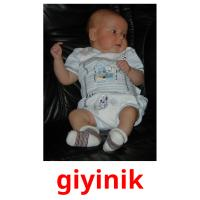 giyinik picture flashcards