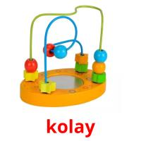 kolay picture flashcards