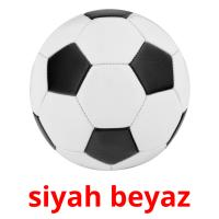 siyah beyaz card for translate