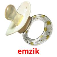emzik picture flashcards