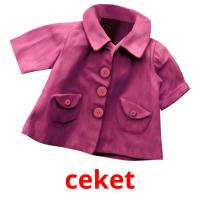 ceket picture flashcards