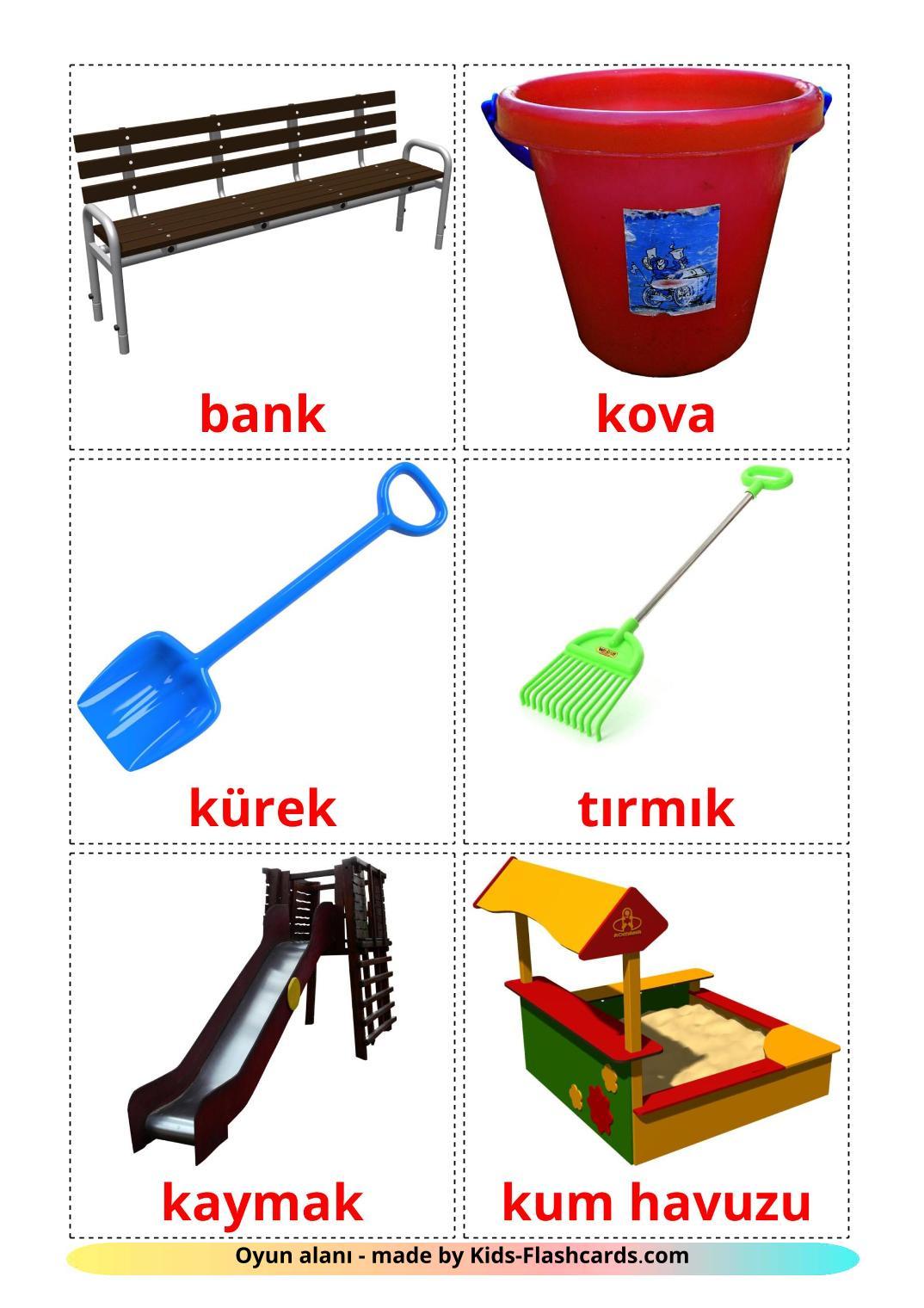 Playground - 13 Free Printable turkish Flashcards