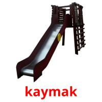 kaymak picture flashcards