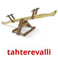 tahterevalli picture flashcards