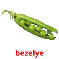 bezelye picture flashcards