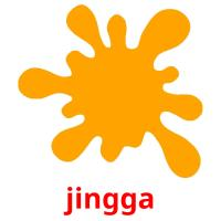 jingga picture flashcards