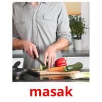 masak picture flashcards