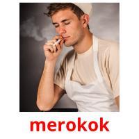 merokok picture flashcards