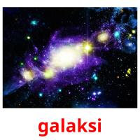 galaksi picture flashcards