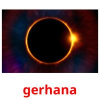gerhana picture flashcards
