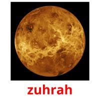 zuhrah picture flashcards