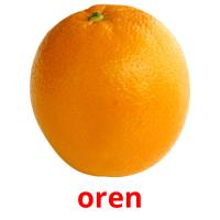 oren picture flashcards