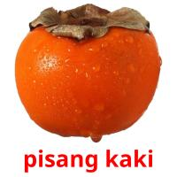 pisang kaki picture flashcards