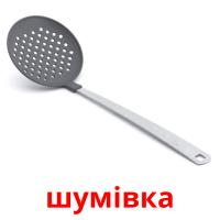 шумівка picture flashcards