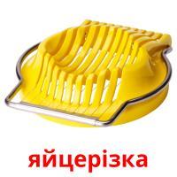 яйцерiзка picture flashcards