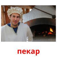 пекар picture flashcards