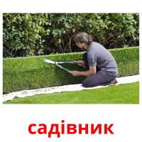 садівник picture flashcards
