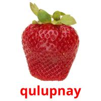 qulupnay picture flashcards