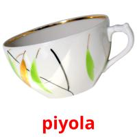 piyola picture flashcards