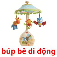 búp bê di động picture flashcards