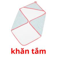 khăn tắm picture flashcards