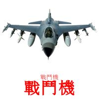 戰鬥機 picture flashcards