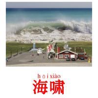 海啸 picture flashcards