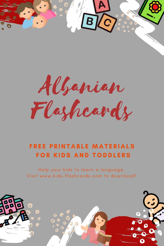 Free Albanian Printables