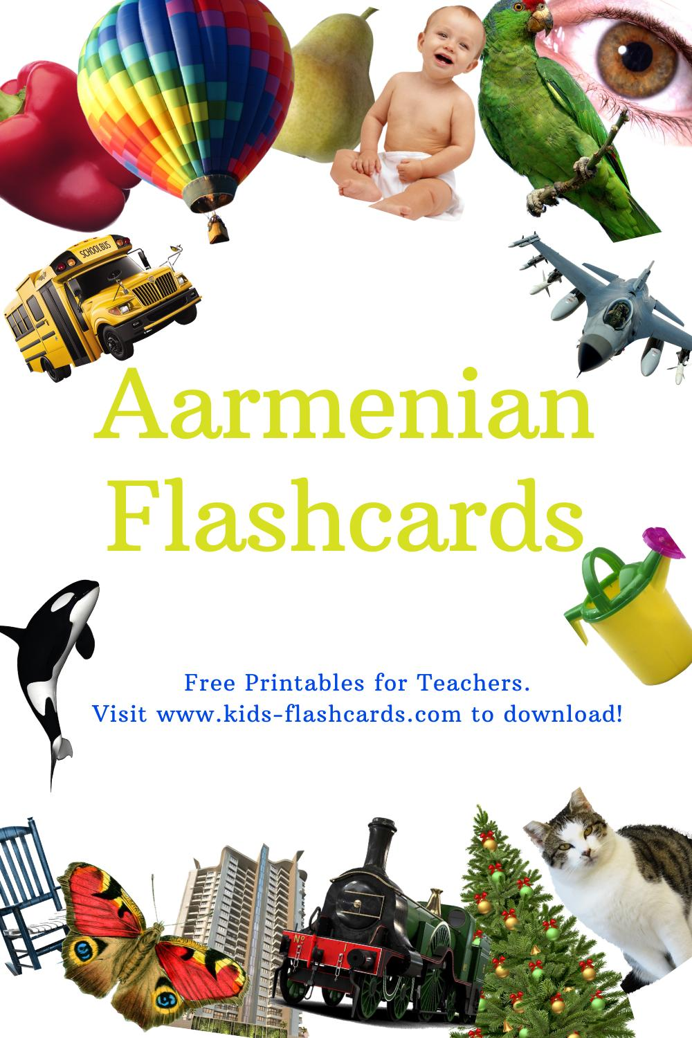 Worksheets to learn Armenian language