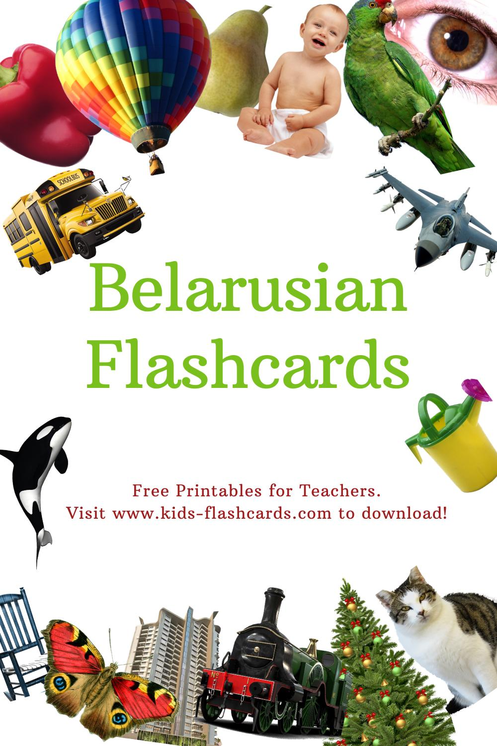 Worksheets to learn Belarusian language
