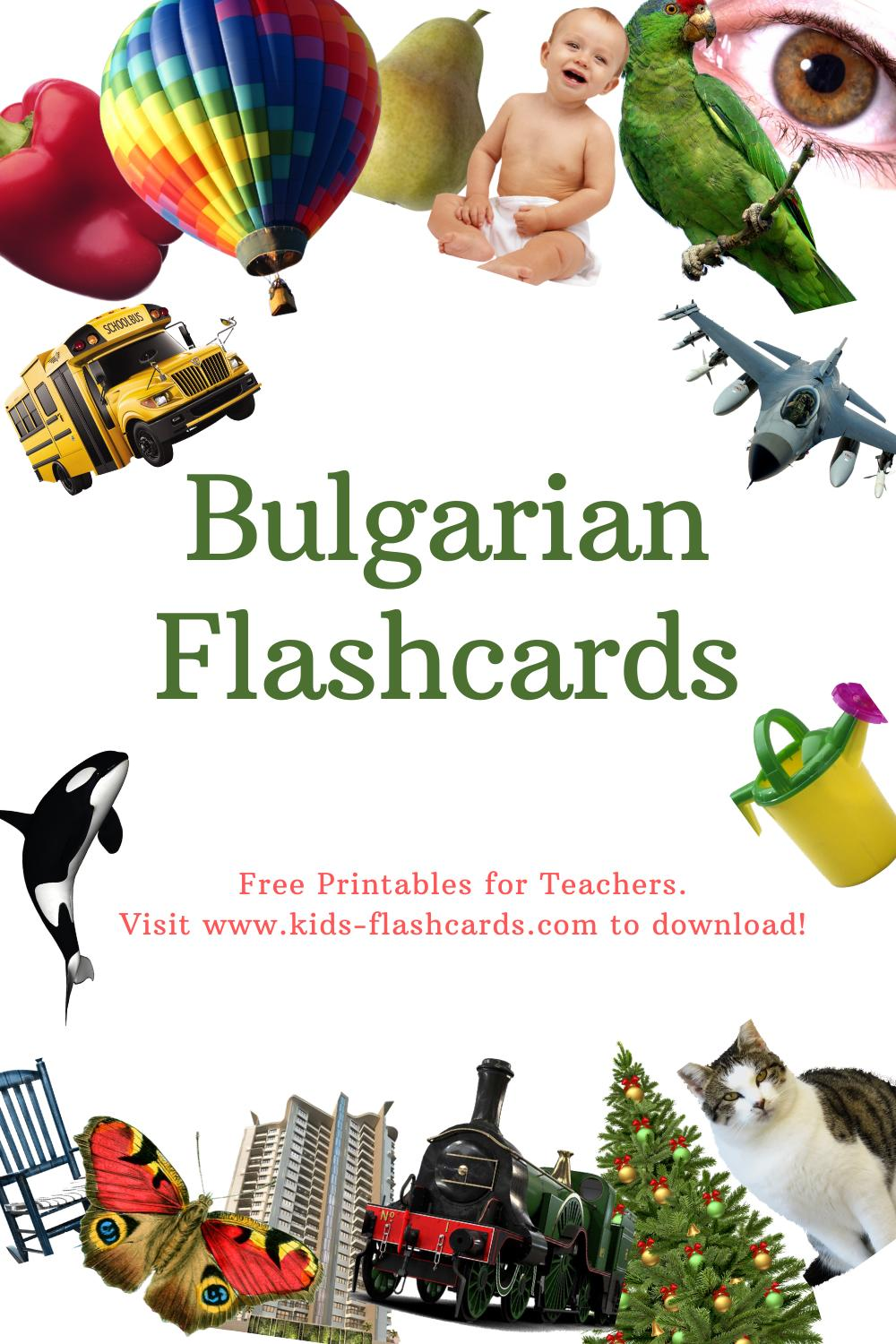Worksheets to learn Bulgarian language