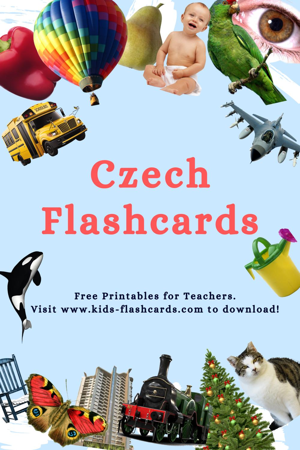 Worksheets to learn Czech language