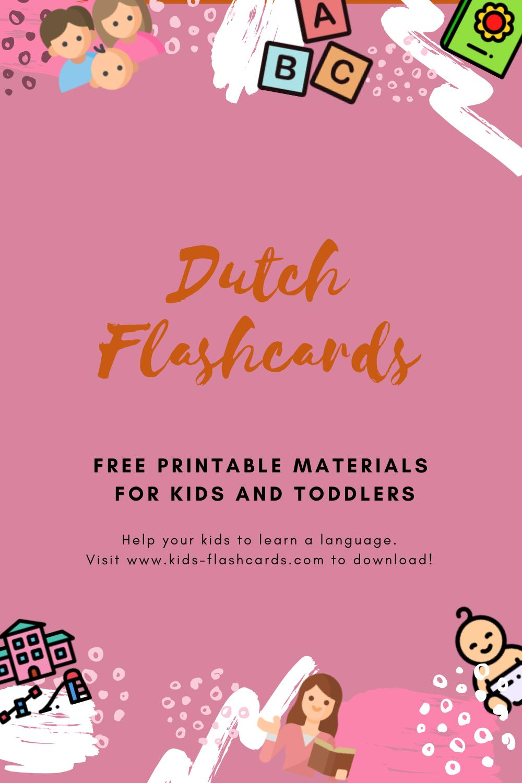 Free Dutch Printables