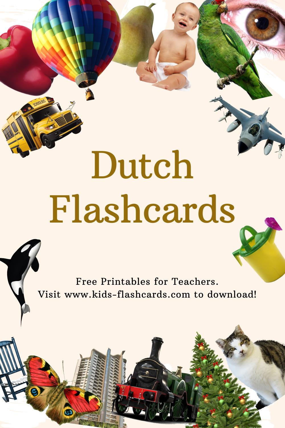 Worksheets to learn Dutch language