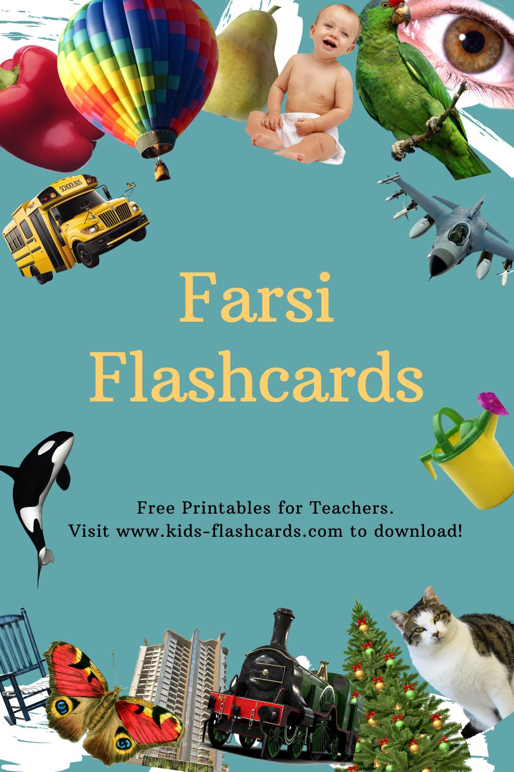 Worksheets to learn Farsi language