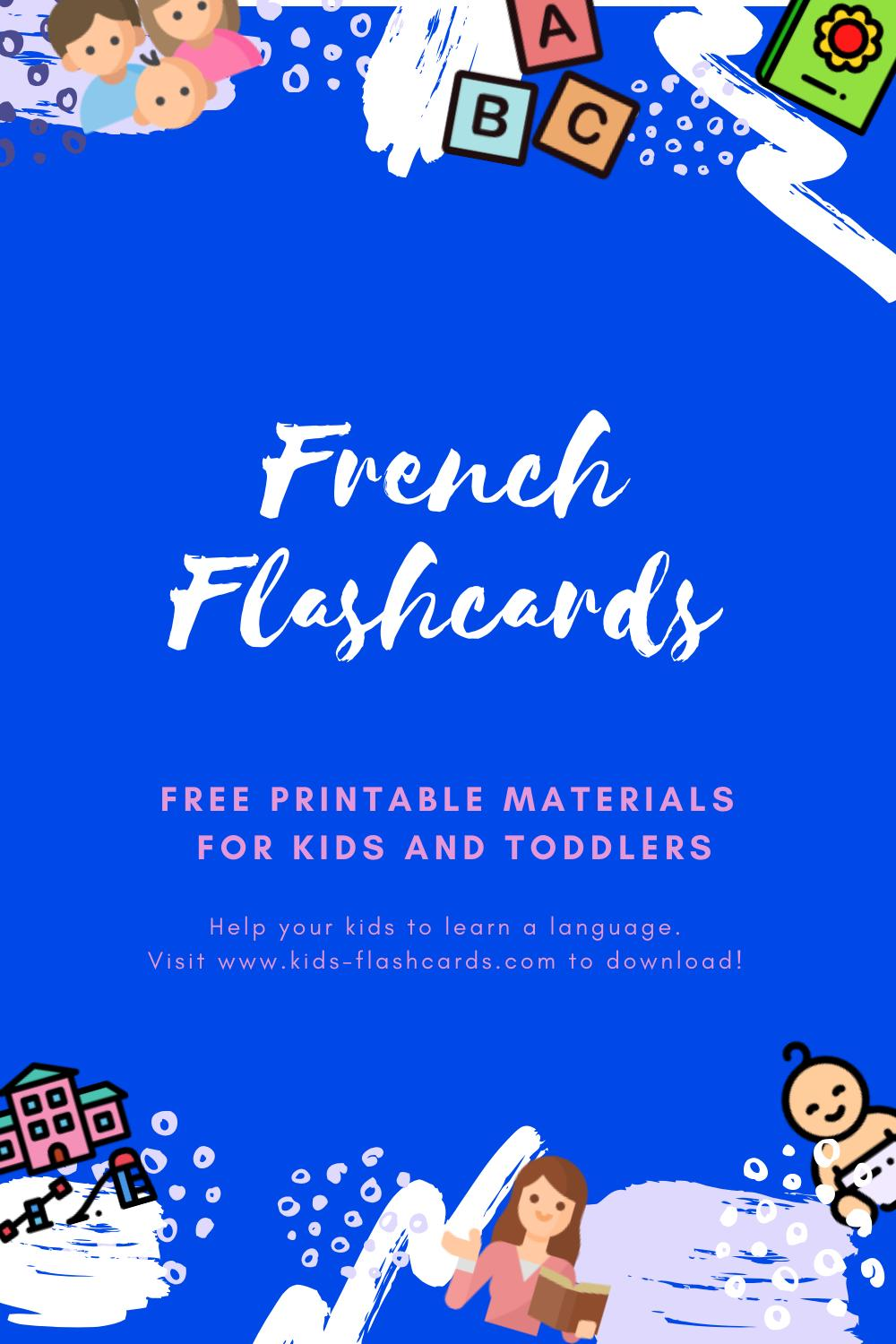Free French Printables