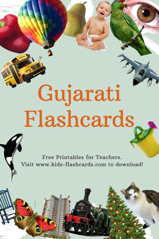 Worksheets to learn Gujarati language