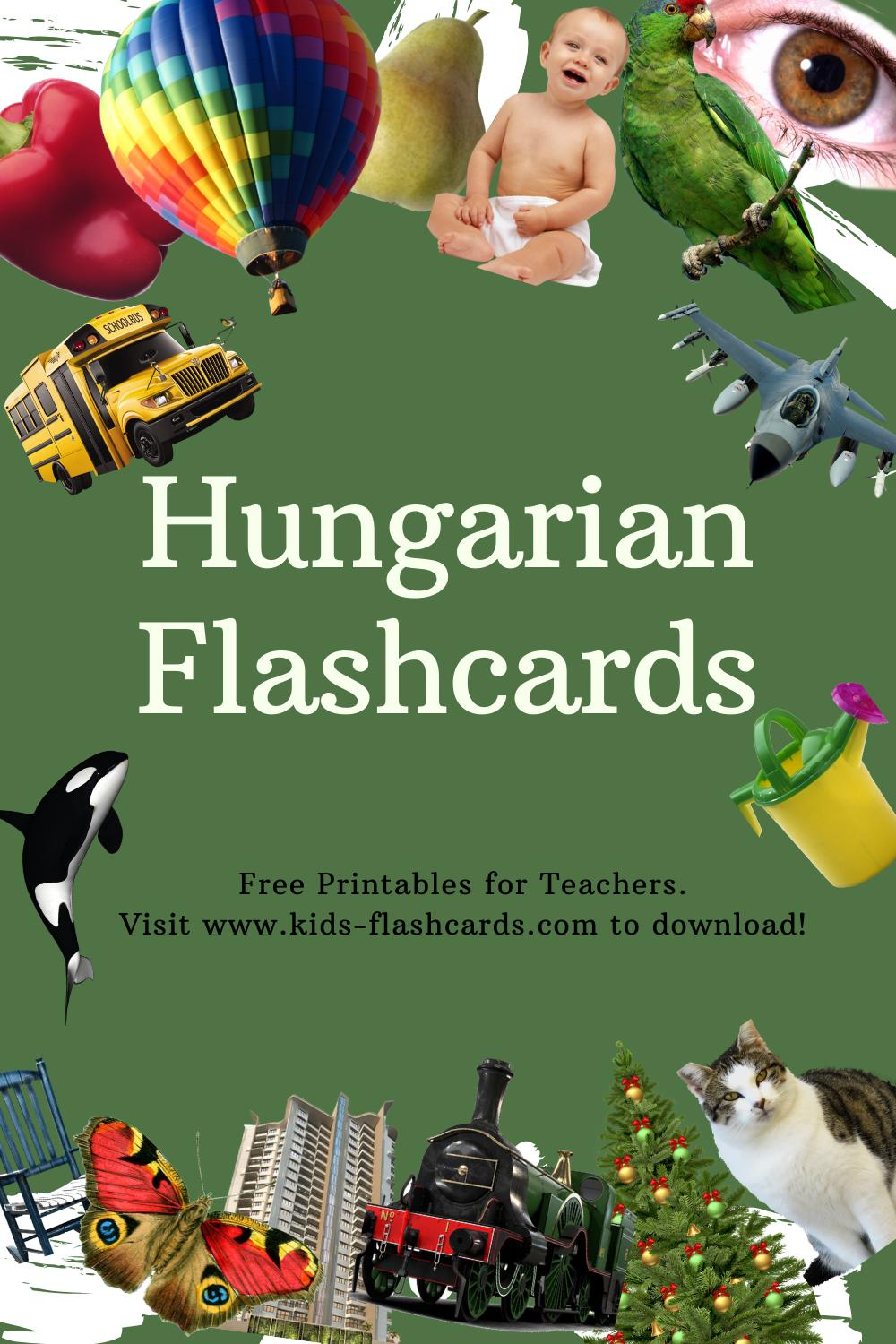 Worksheets to learn Hungarian language