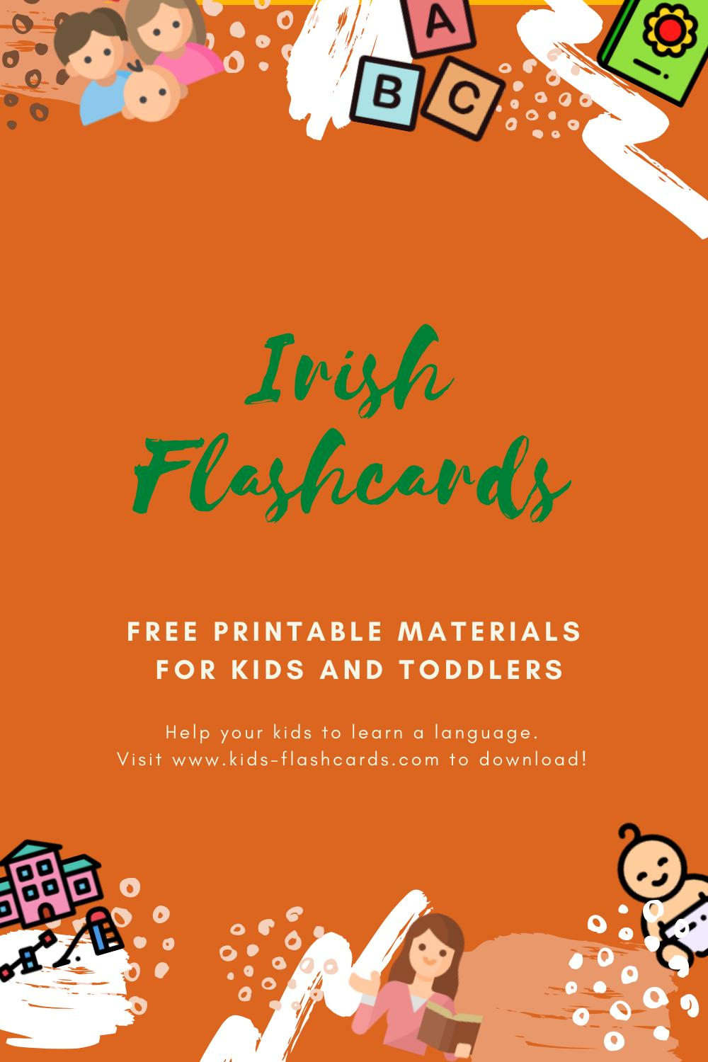 Free Irish Printables