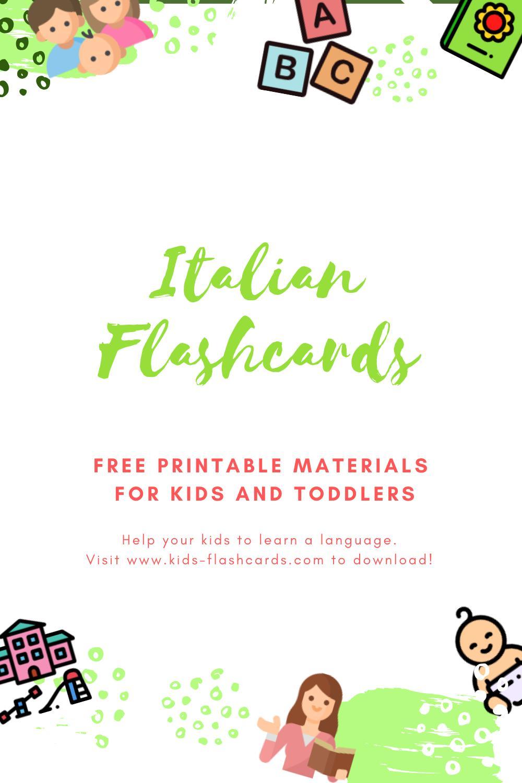 Free Italian Printables