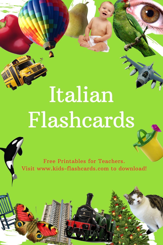 Worksheets to learn Italian language