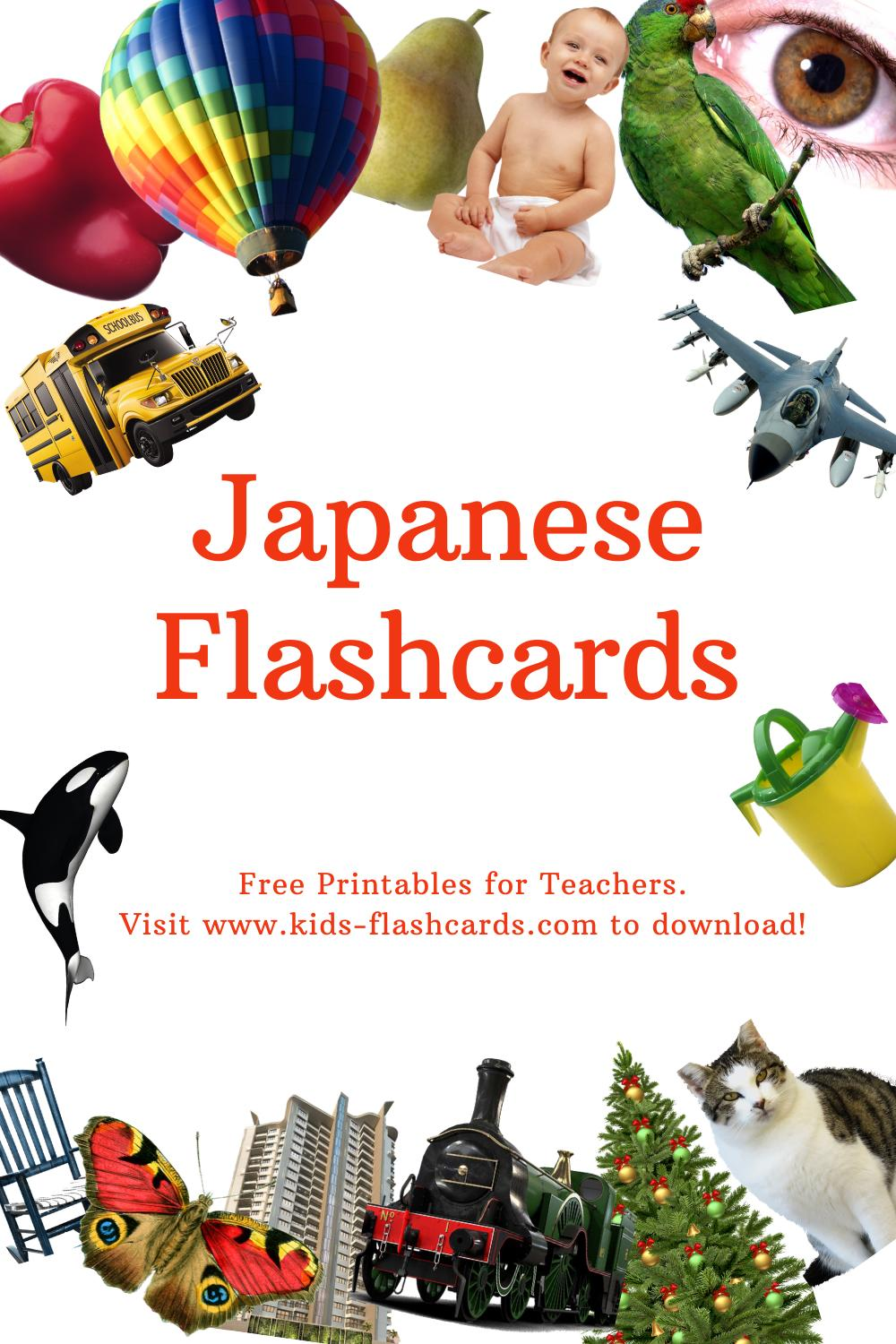 Worksheets to learn Japanese language