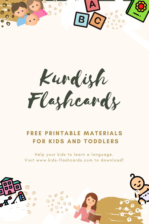 Free Kurdish Printables