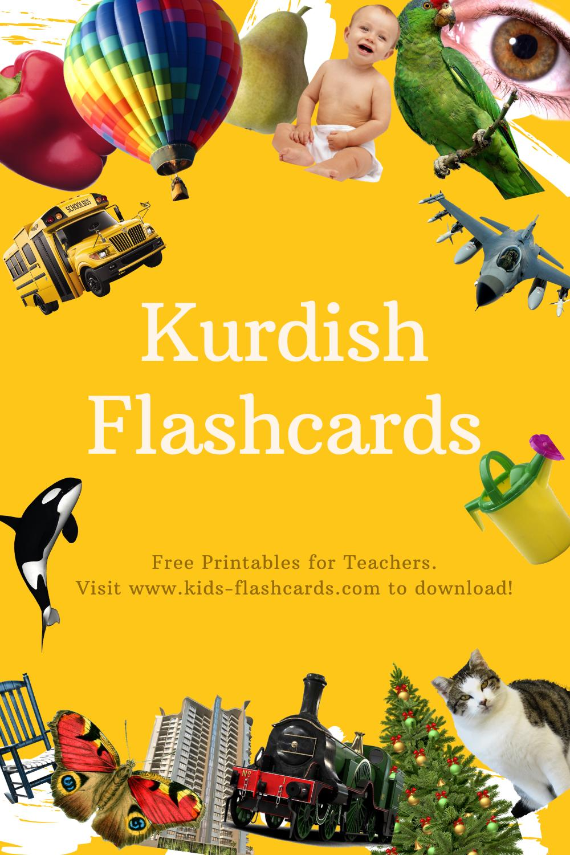 Worksheets to learn Kurdish language