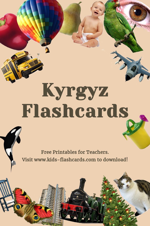 Free Kyrgyz Printables