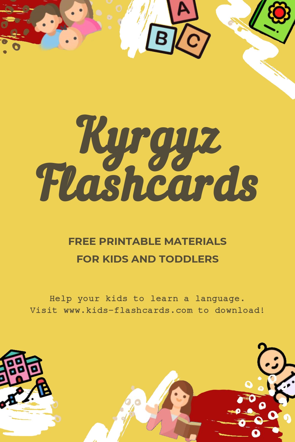 Worksheets to learn Kyrgyz language