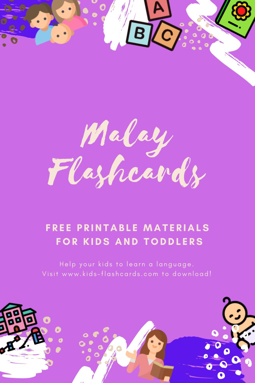 Free Malay Printables