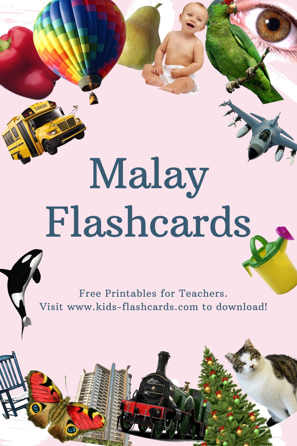 Worksheets to learn Malay language