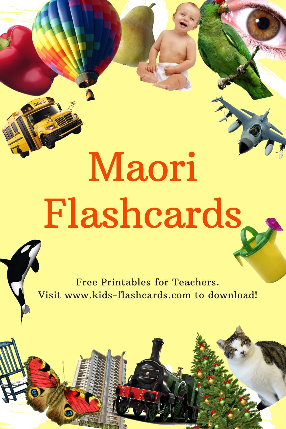 Worksheets to learn Maori language
