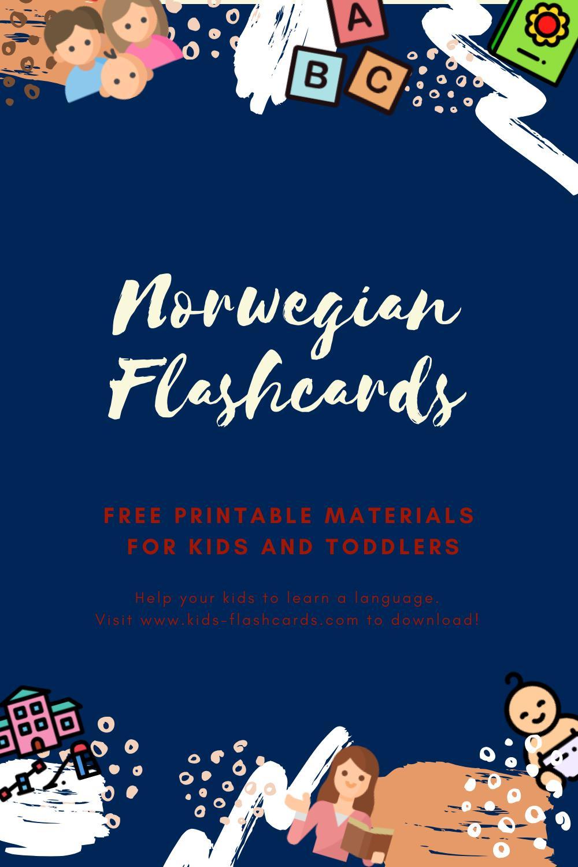 Free Norwegian Printables